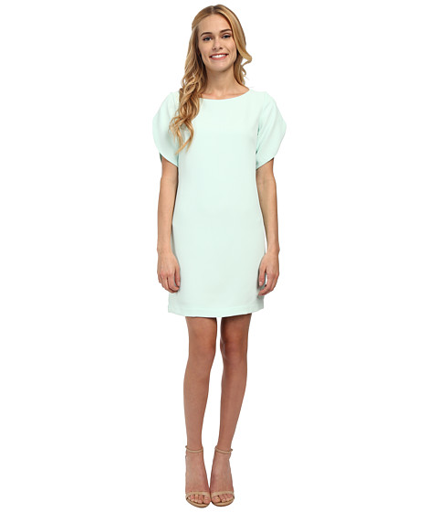 French Connection - Aro Crepe Dress (Aqua) Women's Dress