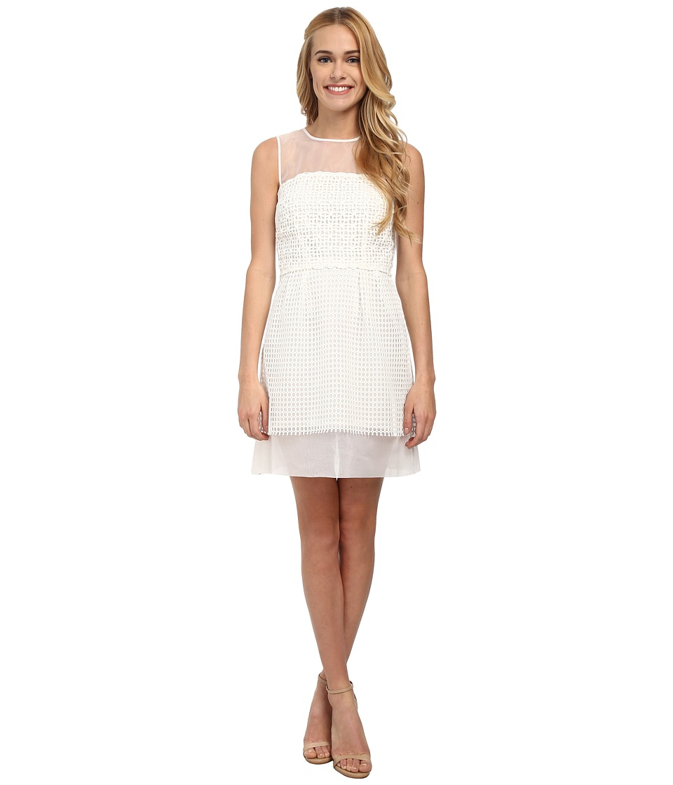 French Connection - Glacier Wave Dress (Summer White) Women's Dress