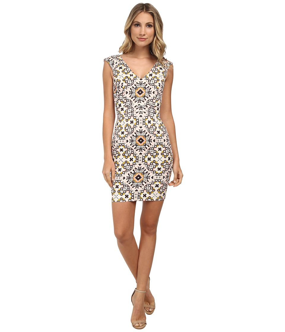 French Connection - Electric Mosaic Cotton Dress (Anemone Multi) Women's Dress