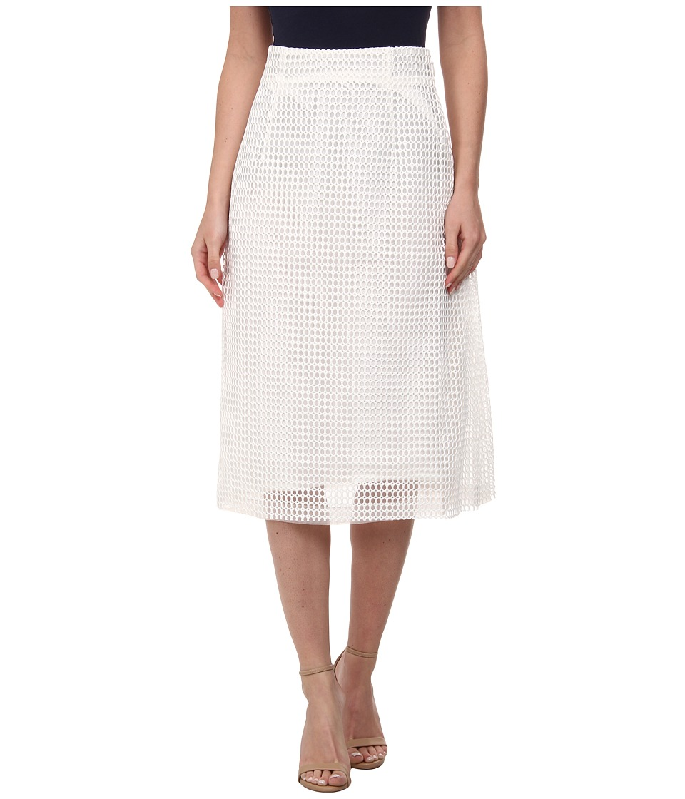 French Connection - Space Lace Skirt (Summer White) Women's Skirt