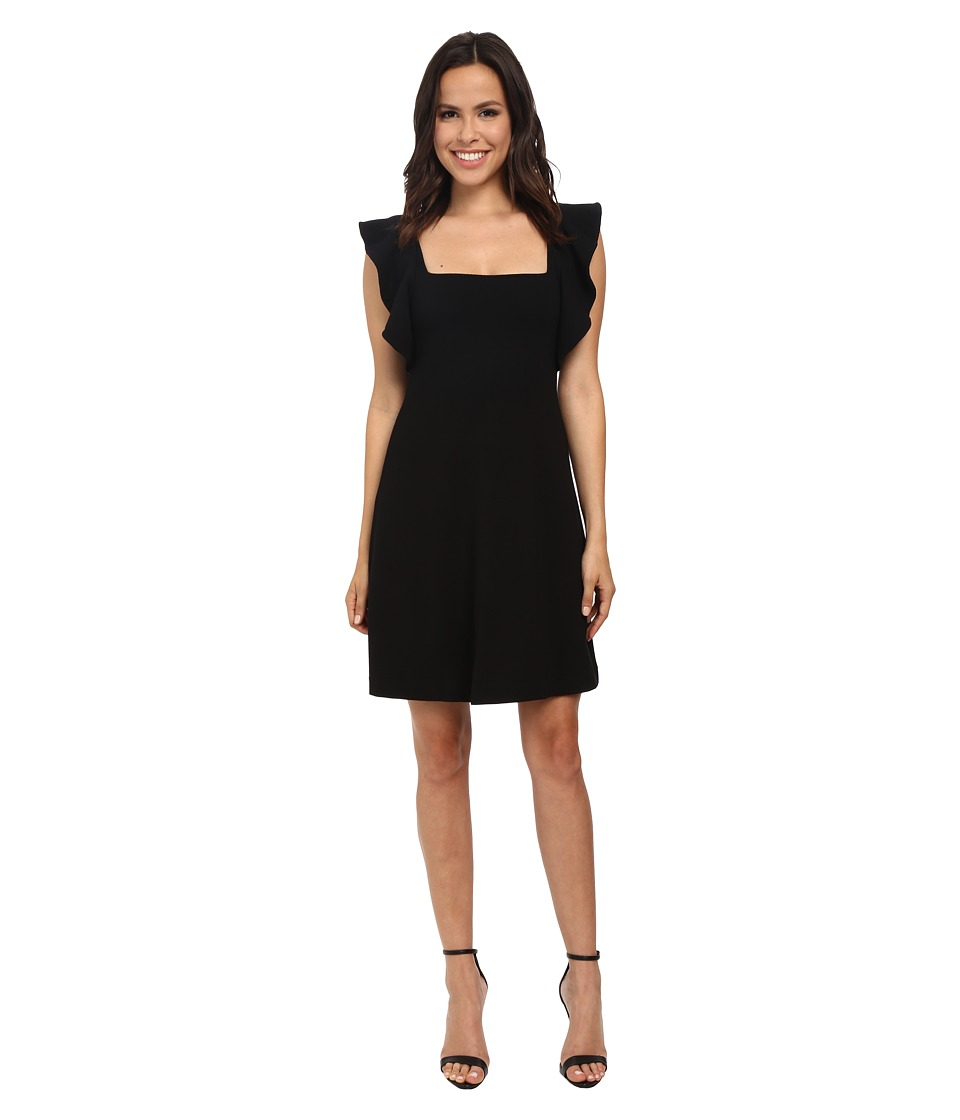 French Connection - Marie Stretch Dress (Black) Women's Dress