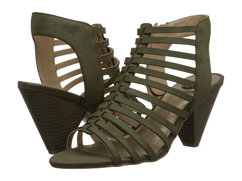 G by GUESS - Essty (Olive PU) High Heels