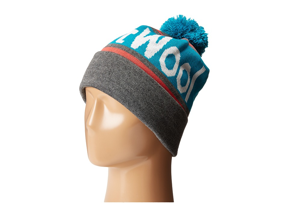 Smartwool - SmartWool Retro Logo Beanie (Medium Grey Heather) Beanies