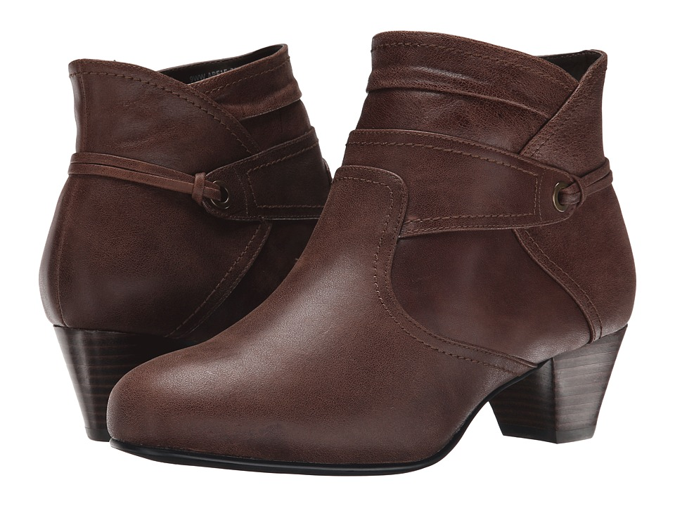 David Tate - Campus (Brown Leather) Women's Shoes