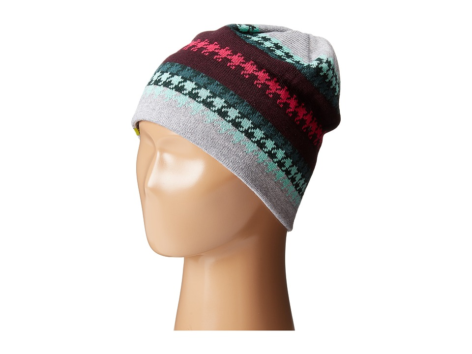 Smartwool - Ski Lacquard Hat (Light Grey Heather) Cold Weather Hats