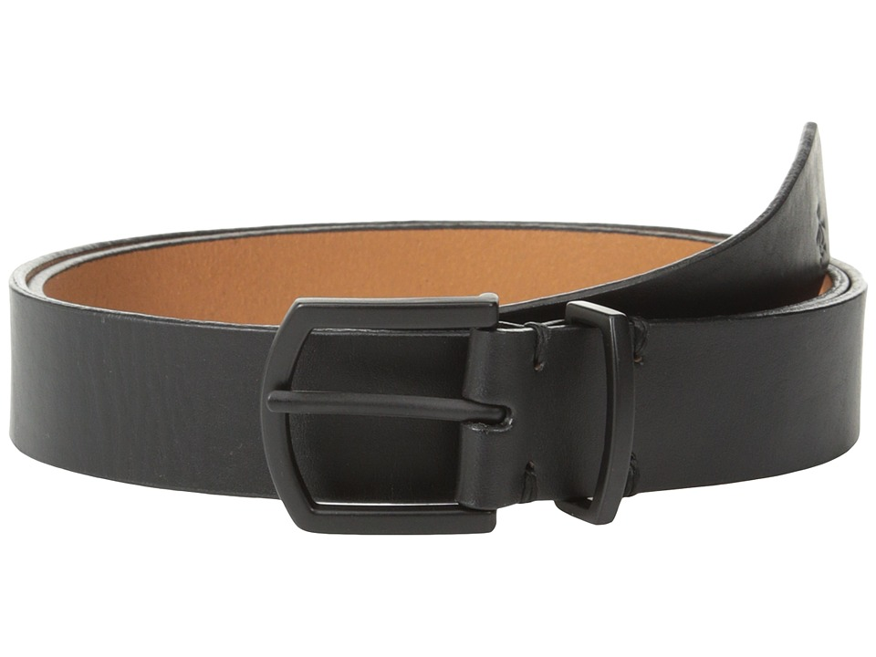Original Penguin - Cesar Leather Belt (Black) Men's Belts