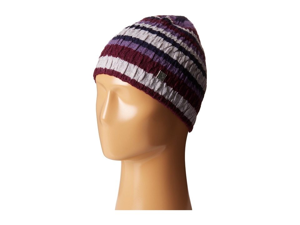 Smartwool - Striped Chevron Hat (Aubergine Heather) Cold Weather Hats