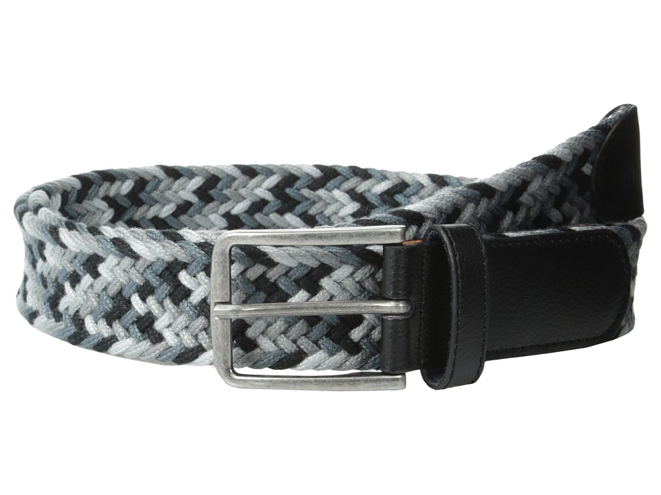 Original Penguin - Grillo Woven Belt (Black) Men's Belts