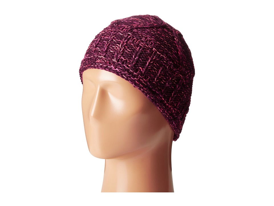 Smartwool - Hesperus Hat (Aubergine Heather) Knit Hats
