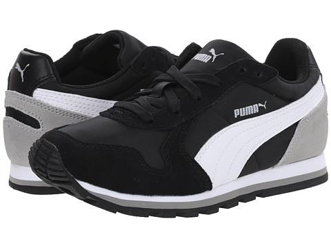 Puma Kids - ST Runner NL Jr (Little Kid/Big Kid) (Black/White/Drizzle) Boys Shoes