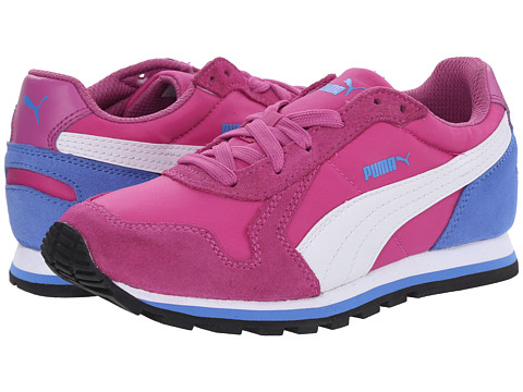 Puma Kids - ST Runner NL Jr (Little Kid/Big Kid) (Meadow Mauve/White/Marina Blue) Girls Shoes