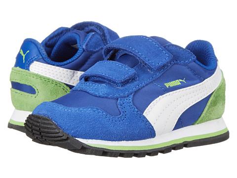 Puma Kids - ST Runner NL V (Toddler/Little Kid/Big Kid) (Surf The Web/White/Jasmine Green) Boys Shoes