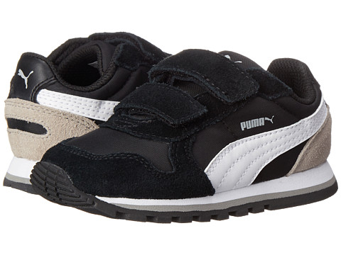 Puma Kids - ST Runner NL V (Toddler/Little Kid/Big Kid) (Black/White/Drizzle) Boys Shoes