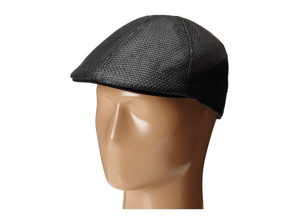Original Penguin - Victor Straw Driver (Black) Driving Hats