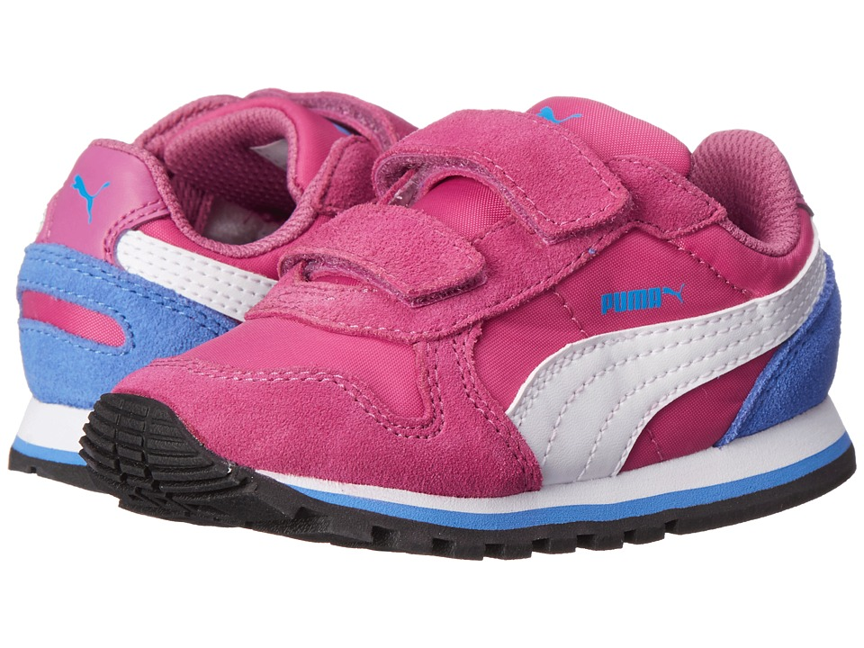Puma Kids - ST Runner NL V (Toddler/Little Kid/Big Kid) (Meadow Mauve/White/Marina Blue) Girls Shoes