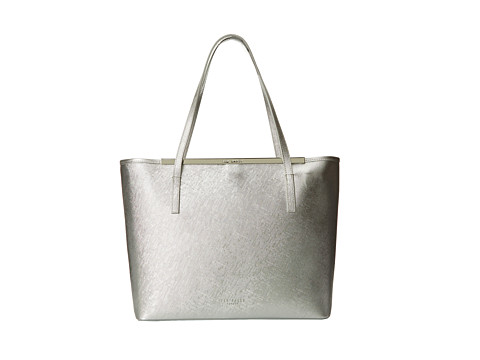 Ted Baker - Jasmena (Silver) Clutch Handbags