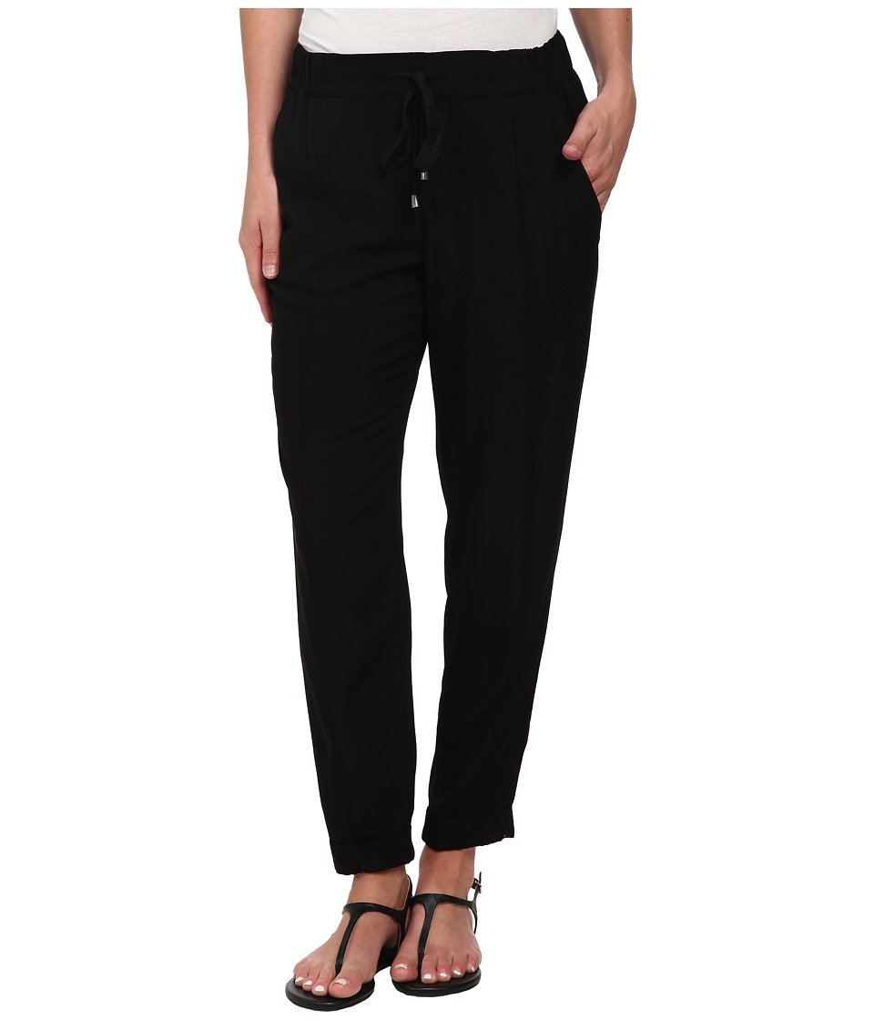 Splendid - Relaxed Trousers (Black) Women's Casual Pants