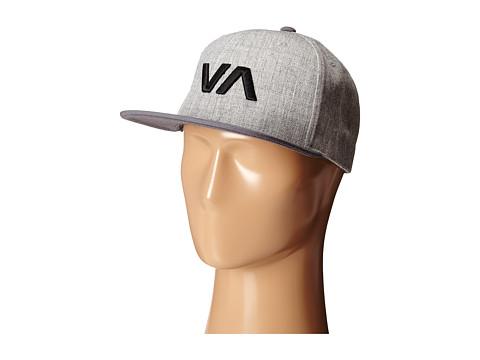 RVCA - VA Snapback II (Grey Heather) Caps