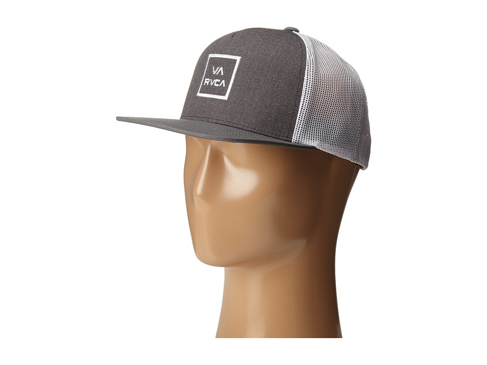 RVCA - VA All The Way Trucker (Charcoal) Caps