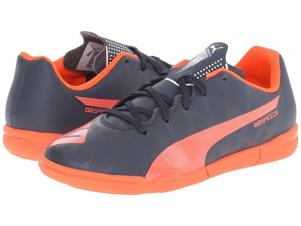 Puma Kids - evoSPEED 5.4 IT Jr (Little Kid/Big Kid) (Total Eclipse/Lava Blast/White) Kids Shoes