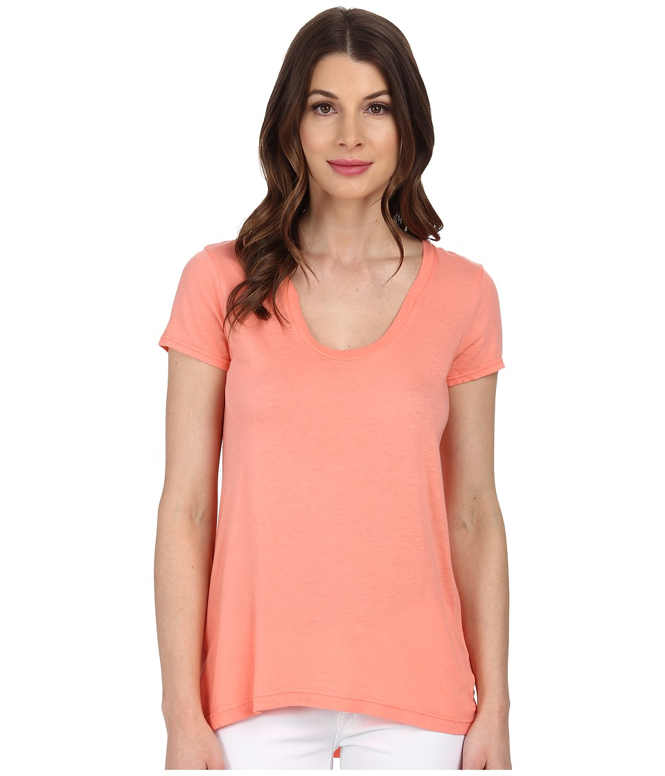 Splendid - New Basic Tee (Sunrise) Women's T Shirt