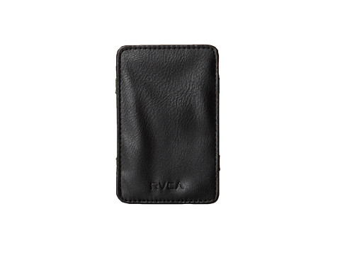 RVCA - Magic Wallet II (Black) Wallet Handbags
