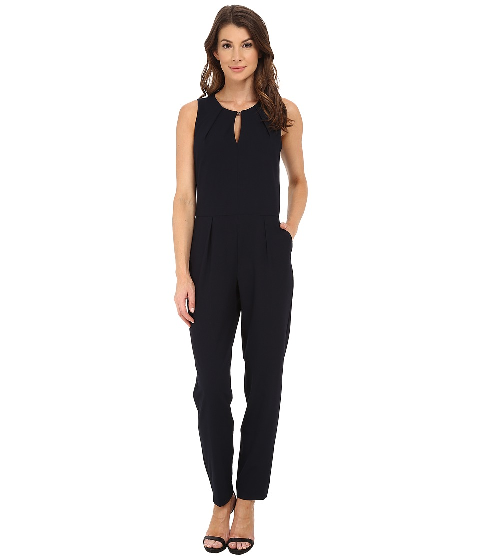 Trina Turk - Kirstyn Jumpsuit (Navy) Women's Jumpsuit & Rompers One Piece