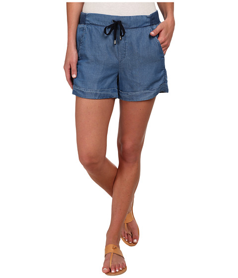 Splendid - Rayon Voile Short (Medium Wash) Women's Shorts
