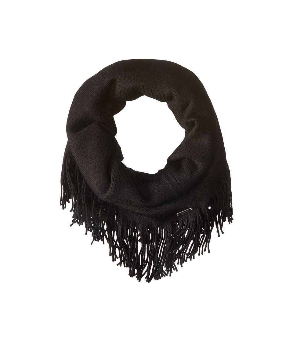 Smartwool - Tabaretta Fringe Scarf (Black) Scarves