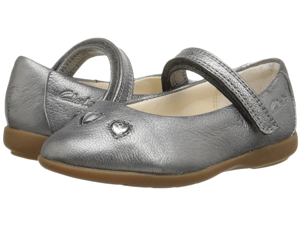 Clarks Kids - Dance Pop (Toddler) (Metallic) Girl