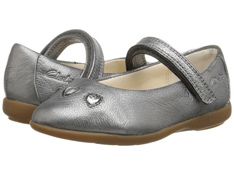 Clarks Kids - Dance Pop (Toddler) (Metallic) Girl's Shoes