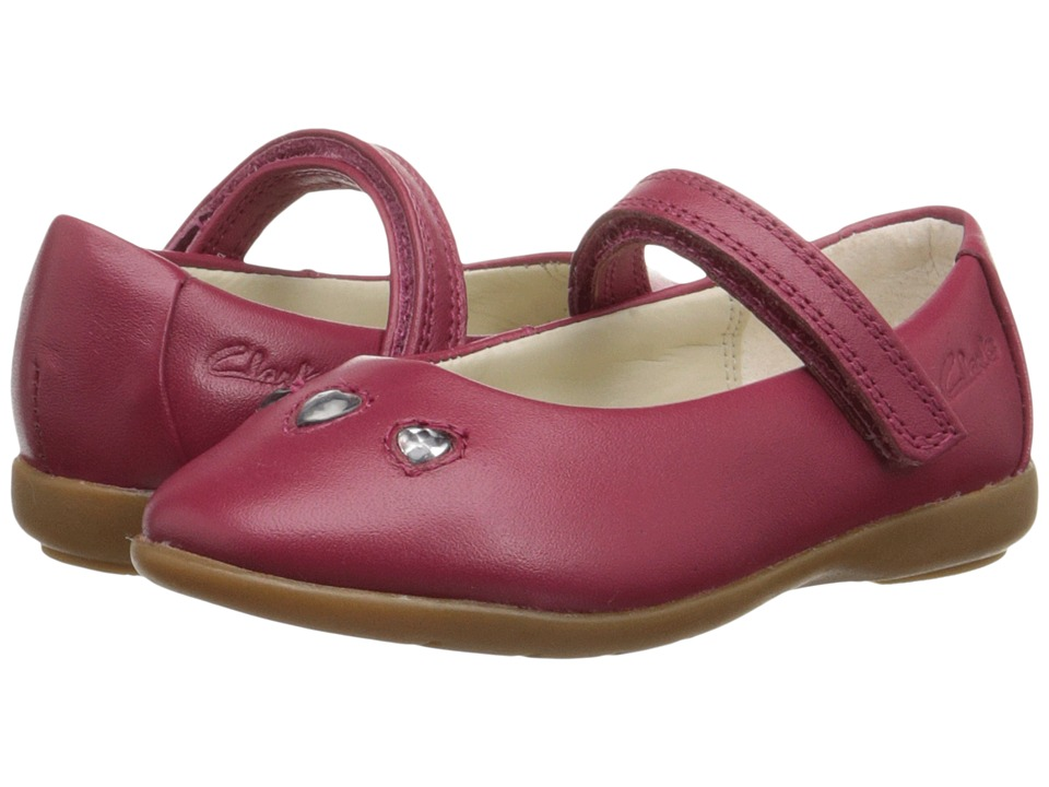 Clarks Kids - Dance Pop (Toddler) (Berry) Girl