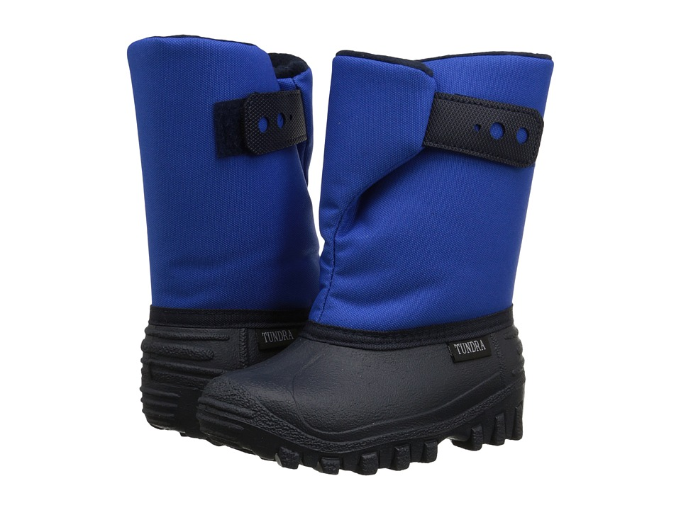 Tundra Boots Kids - Teddy (Toddler/Little Kid) (Royal Blue) Boys Shoes