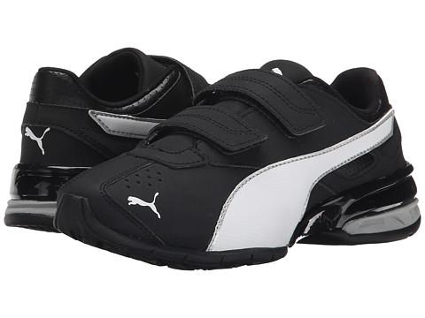 Puma Kids - Tazon 6 SL (Toddler/Little Kid/Big Kid) (Black/Puma Silver/White) Kids Shoes
