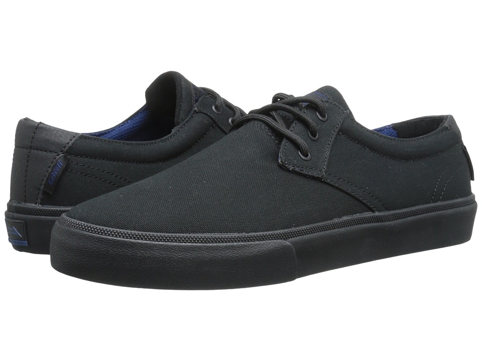 Lakai - M.J. (Black/Black Canvas) Men