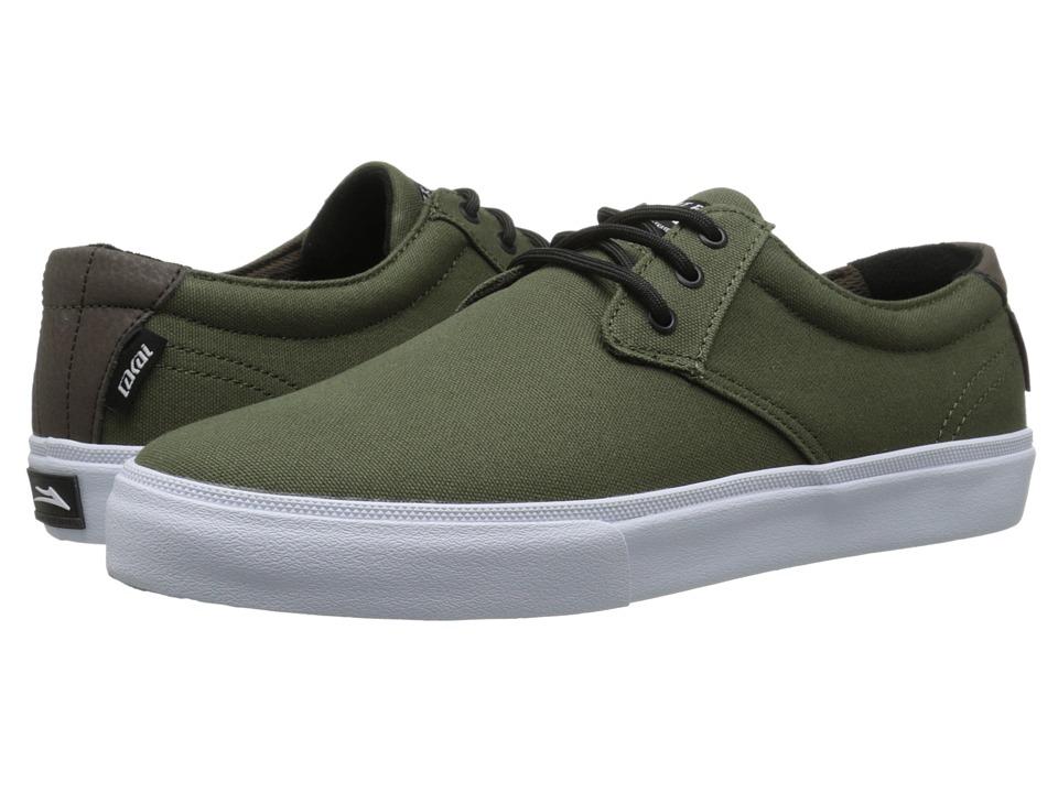 Lakai - M.J. (Black/Black Canvas) Men's Skate Shoes