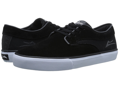 Lakai - Riley Hawk (Black Suede) Men