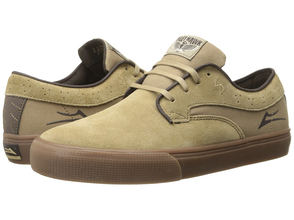 Lakai - Riley Hawk (Walnut Suede) Men