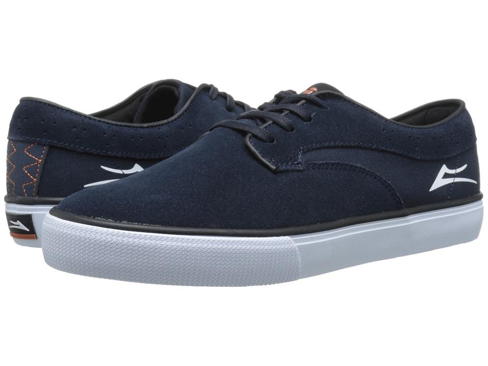 Lakai - Riley Hawk (Midnight Suede) Men's Skate Shoes