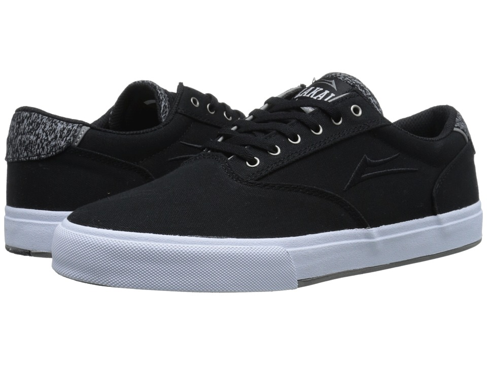 Lakai - GuyMar (Black Canvas) Men