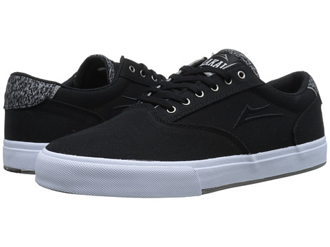 Lakai - GuyMar (Black Canvas) Men's Skate Shoes