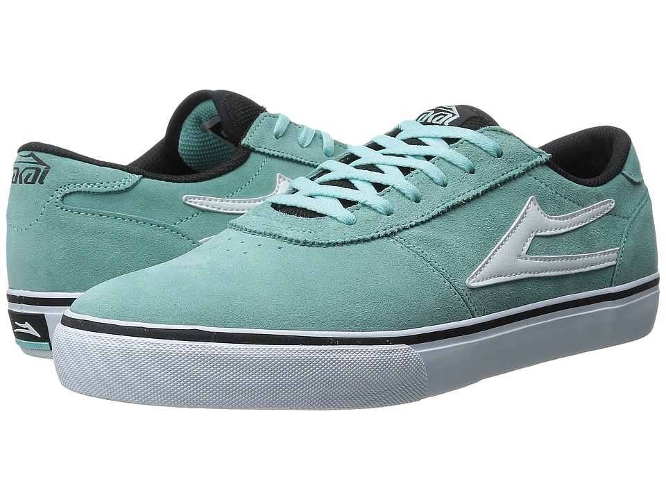 Lakai - Manchester Select (Aqua Suede 1) Men's Skate Shoes