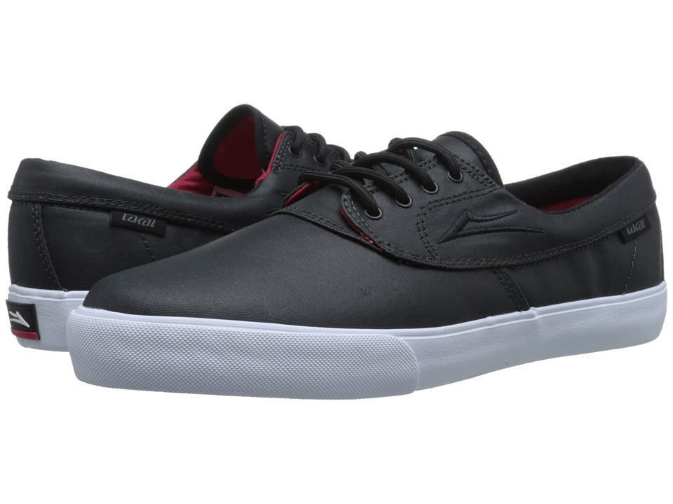 Lakai - Camby (Black Coated Canvas) Men