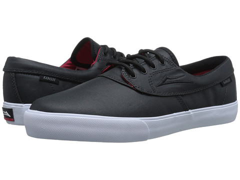 Lakai - Camby (Black Coated Canvas) Men's Skate Shoes