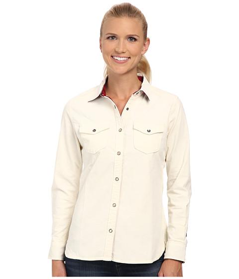 Woolrich - Pendulum Cord Shirt II (Ecru) Women