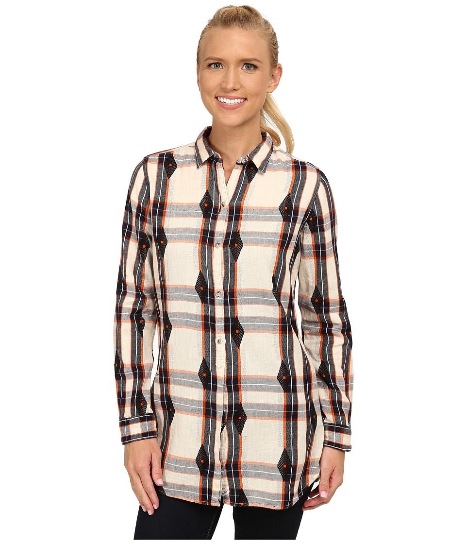 Woolrich - First Light Jacquard Shirt (Wool Cream) Women