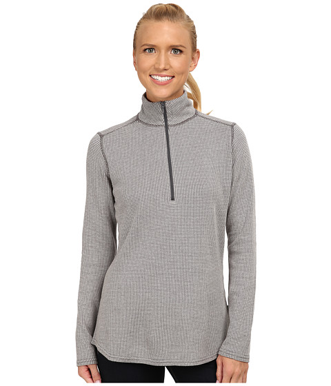 Woolrich - Canoe Run Half Zip (Dark Ash) Women's Clothing