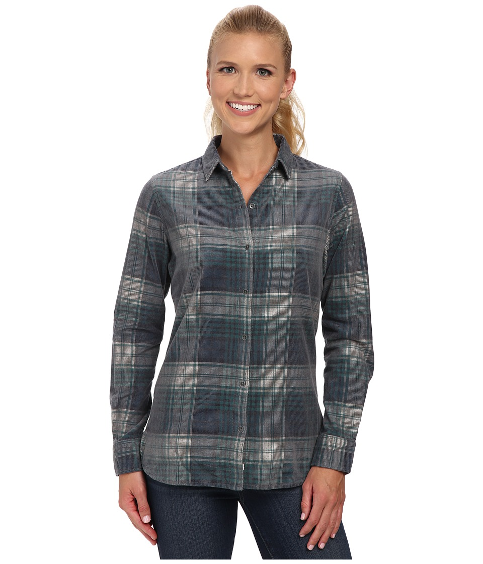 Woolrich - Rappel Cord Shirt (Canyon) Women's Long Sleeve Button Up