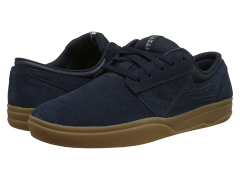 Lakai - Griffin XLK (Navy/Gum Suede) Men