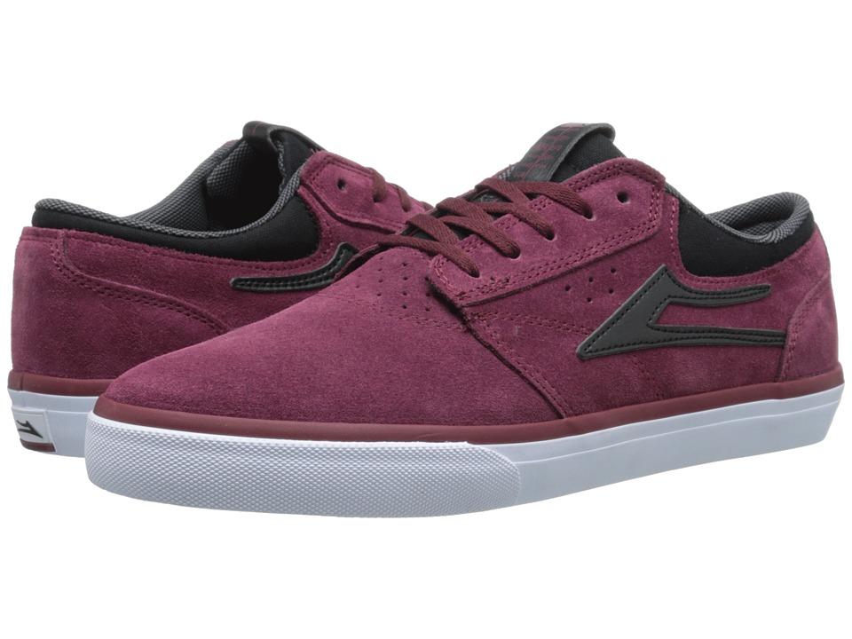 Lakai - Griffin (Navy/Grey Canvas) Men's Skate Shoes